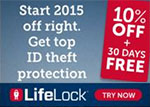 LifeLock Identity Theft Services coupon code 2017